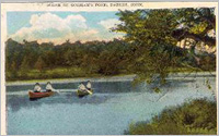 Postcard of Gorham's Pond circa early 1900s.