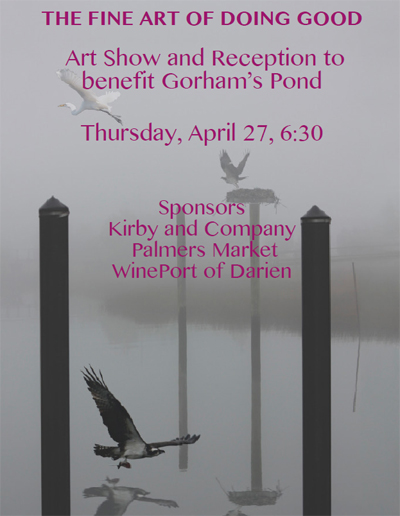 Art Show and Reception to benefit Gorham's Pond