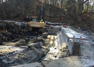 Dam completely rebuilt